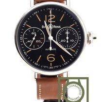 Bell & Ross WW1 monopoussoir chronographe heritage black NEW