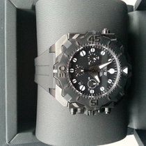 RSW Diving Tool Chronograph schwarz-neu, 49mm, NP: 4000 Euro