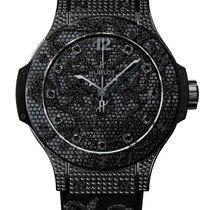 Hublot Big Bang Broderie All Black Diamond