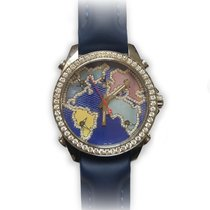 Jacob & Co. Five Time Zone Stainless Steel Watch