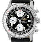 """Breitling """"Old Navitimer II"""" Chronograph Strapwatch."""