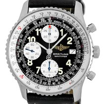 "Breitling ""Old Navitimer II"" Chronograph Strapwatch."