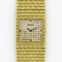 伯爵 (Piaget) Vintage Yellow Gold Emperor Diamond Ruby Watch