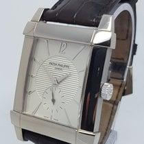 Patek Philippe Gondolo 18K White Gold Mens Watch