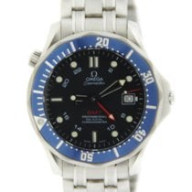 Omega Seamaster Diver 300M GMT Automatic Stainless Steel
