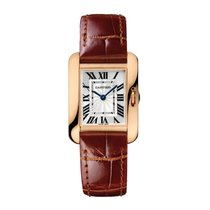 Cartier Tank Anglaise Automatic Ladies Watch Ref W5310027