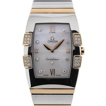 Omega Constellation Quadrella 33 Quartz Dual Tone