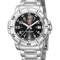 Luminox Ladies 38mm Steel Colormark - Black Dial w/ Grey -...