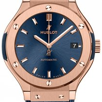 Hublot Classic Fusion 38mm Automatic King Gold Blue