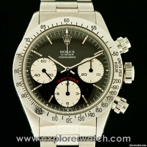 Rolex DAYTONA 6265 BIG RED UNPOLISHED