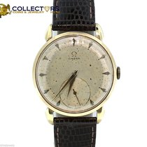 Omega Sub Second Wind Up 17 Jewels GOld Plated Automatic Watch