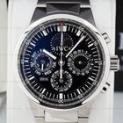IWC GST Perpetual Calendar Chronograph SS Black Dial