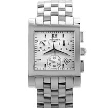 Longines DolceVita Mens Stainless Steel Quartz Chronograph...