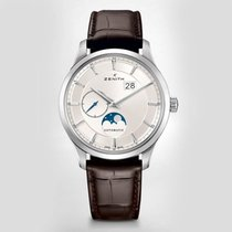 Zenith [NEW] Captain Moonphase Silver Dial Automatic Men's...