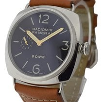 Panerai PAM00190 brn PAM 190 - 8 Day Radiomir with JLC...
