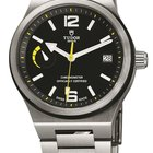 Tudor North Flag 91210N Black Yellow Stainless Steel Automatic...