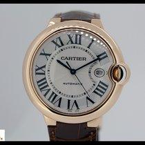 Cartier Ballon Bleu rose gold automatic watch Large Model 42mm