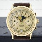 Universal Genève Vintage Moonphase Chronograph 18K Yellow Gold...