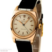 Rolex Vintage Oyster Precision Bubble Back Manual Ref-3116 14k...