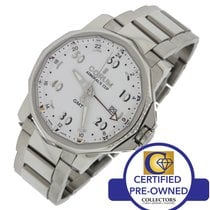 Corum Admiral's Cup GMT Date Automatic White Steel Watch