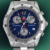 TAG Heuer Professional 2000 Chronograph 200m Blue Dial