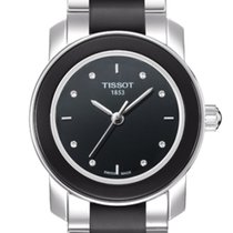 Tissot T-Cera Ceramic Diamanten Quarz Neu new