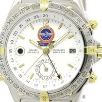 Breitling Polished Breitling Duograph World Cup Ltd Edition...