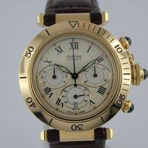 Cartier Pascha Automatik Chronograph #K2809/10 18k Gold
