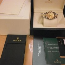Rolex Datejust 178273 18k/ss 3/4 Size Lds' 31mm Auto Watch...