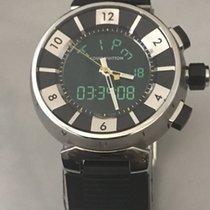 Louis Vuitton Tambour Unisex Analog Digital Swiss Watch Q118F...