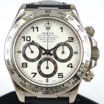Rolex Daytona 18K White Gold Ref 16519 Zenith Movement