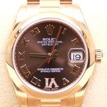 Rolex Datejust,Ref.178245choco röm Dia/Präsid.-diverse ZB...