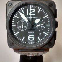 Bell & Ross BR03 94 CHRONO AUTO CARBON BLACK
