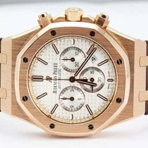 Audemars Piguet Royal Oak Chronograph Rose Gold Strap 26320OR....