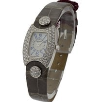 DeLaneau First Lady with Full Diamond Case White Gold