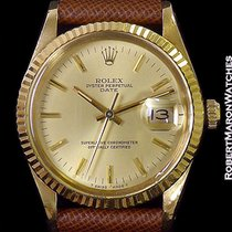 Rolex Buick Final Stride 15038 18k W/ Papers 1985