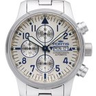 Fortis F-43 Flieger Silver Line Chronograph Limited Edition