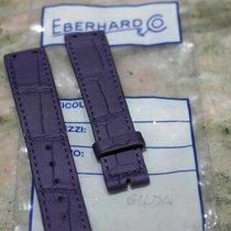 Eberhard & Co. leather violet strap gilda models newoldstock