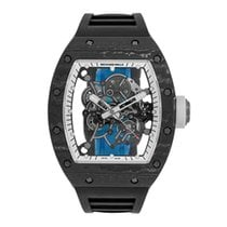 Richard Mille RM055 Bubba Watson  White Legend Titanium Watch