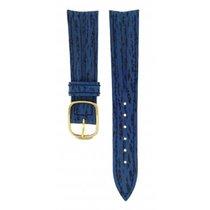 Baume & Mercier Blue Leather Strap 16.5mm/14mm