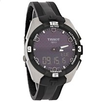 Tissot T-Touch Expert Mens Analog Digital Black Strap Watch...