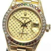 Rolex DATE JUST Ladies original diamond 69038