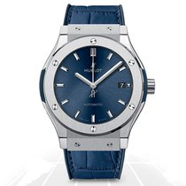 Hublot Classic Fusion Blue Titanium 45mm - 511.NX.7170.LR