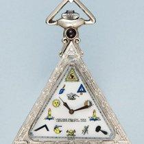 Solvil Swiss triangular masonic pocket watch