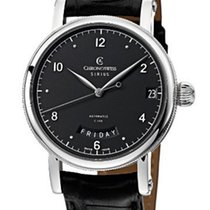 Chronoswiss CH1923 Sirius Day Date in Steel - on Black...