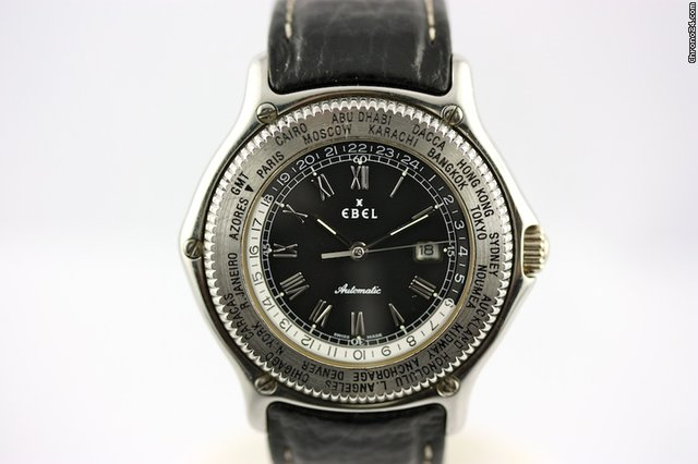 Ebel Voyager World Timer