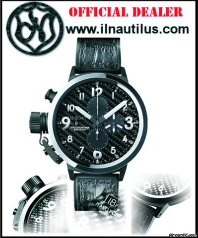 U-Boat Flightdeck Ceramic Bezel 50mm