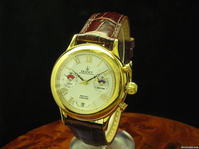 Poljot Gorbatchev Handaufzug Chronograph Limitierte Auflage