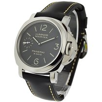 Panerai PAM00510 Luminor Marina 8 days in Steel - on Black...