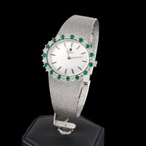Universal Genève white gold diamods and emeralds